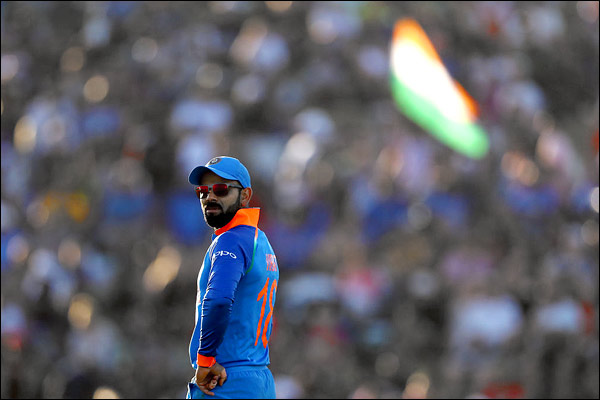 Virat leads the third Indian captain in 200 matches Dhoni leads