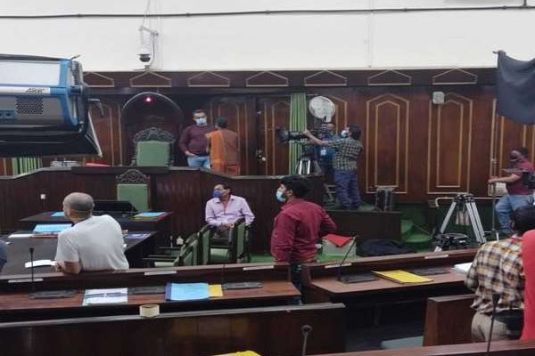 Shooting took place in Jammu and Kashmir assembly for the first time