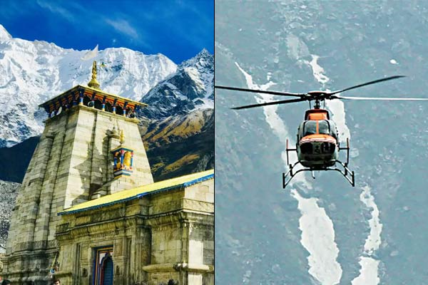 Online booking of Kedarnath Heli service started 690 tickets booked on first day