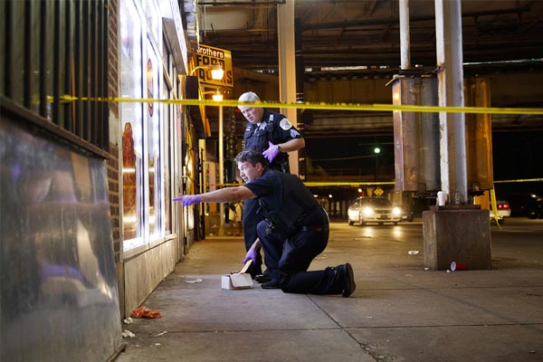 Shooting incidents in Chicago