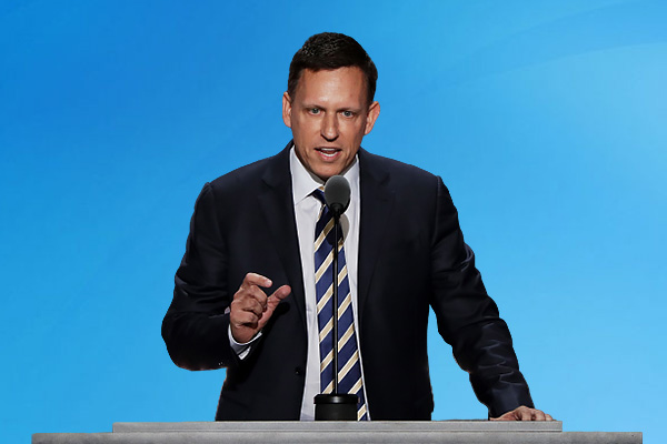 Peter Thiel warn US against Bitcoin