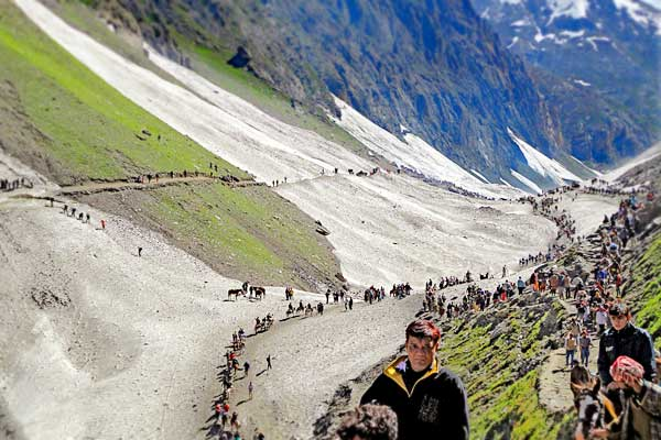 Online registration for Amarnath Yatra