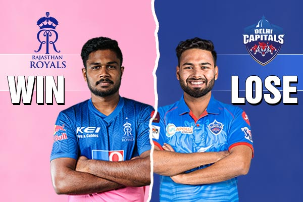 Rajasthan Royals vs Delhi Capitals