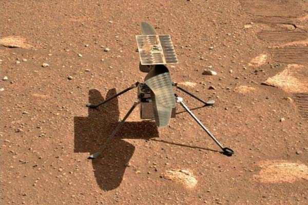Helicopter Ingenuity flew on Mars
