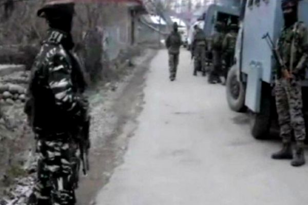 Encounter Between Security Forces And Terrorists