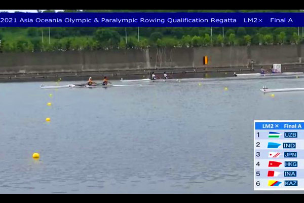 In The Rowing Mens Doubles Sculls Event For Tokyo Olympics Arjun Jat And Arvind Singh Qualified